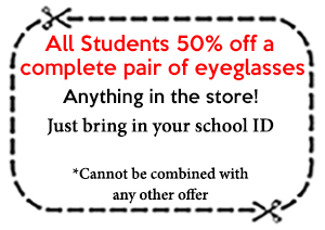 Greenburgh Optical Specials